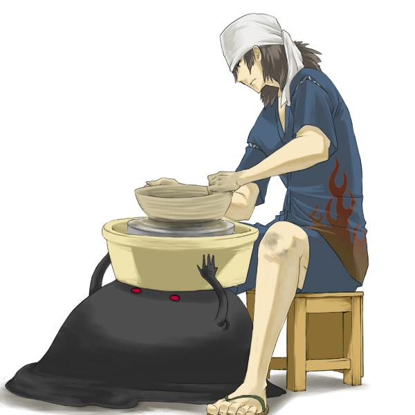 Tags: Anime, Shin Megami Tensei: PERSONA 3, Aragaki Shinjirou, Pottery