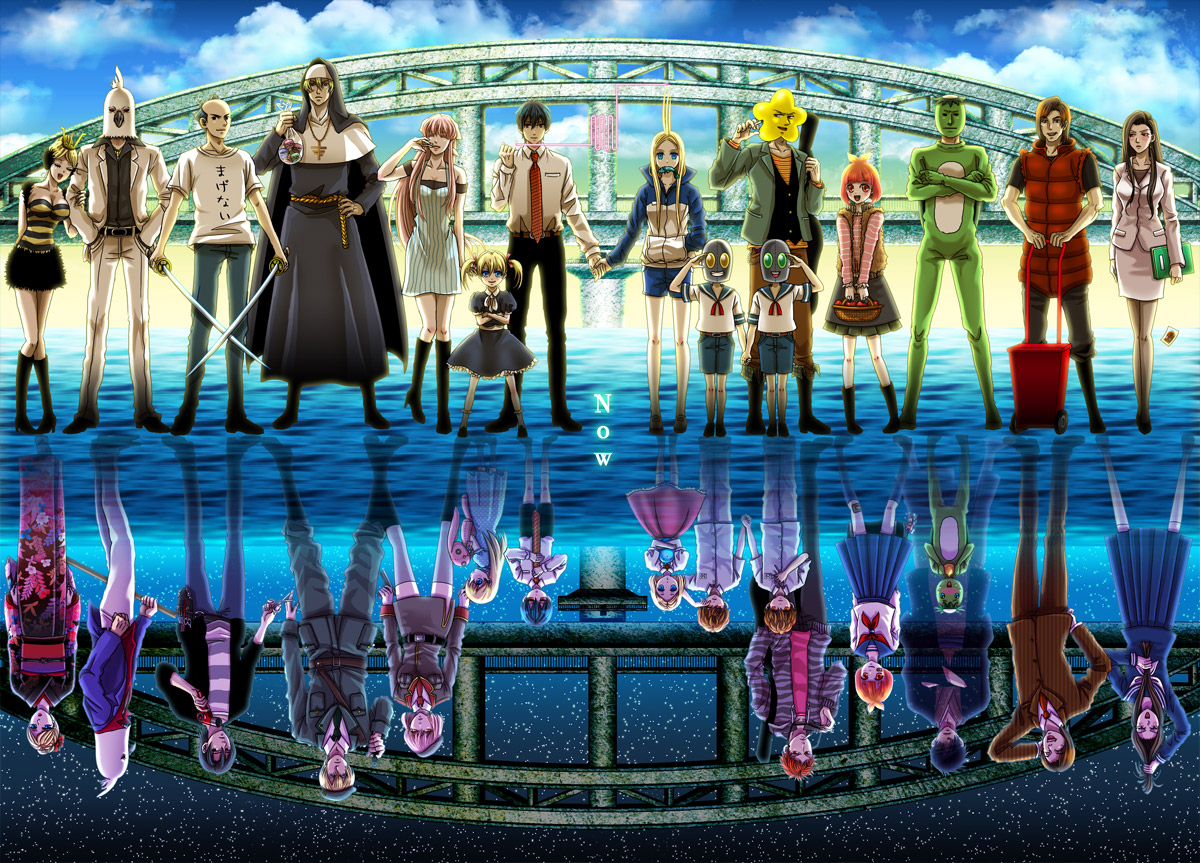 Arakawa Under The Bridge Episode 2 x Bridge Arakawa Under The Bridge x