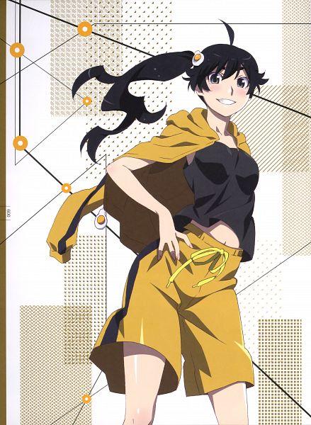 Monogatari Series Heroine book 5 Japanese Anime official Hitagi Senjougahara