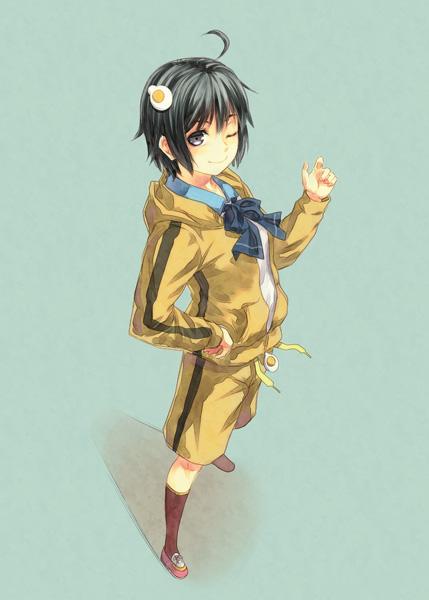 Tags: Anime, Kouji (Campus Life), Monogatari, Araragi Karen