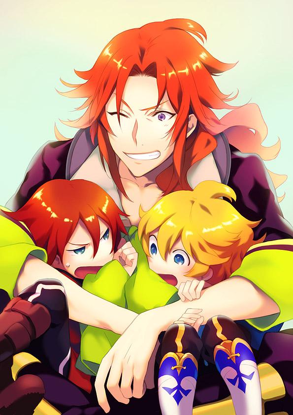Tags: Anime, Akiyoshi Haru, Arc Rise Fantasia, L'Arc Bright Lagoon, Alphonse