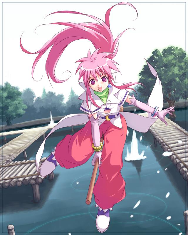 Tags: Anime, Yakka, Tales of Phantasia, Arche Klein, Fanart