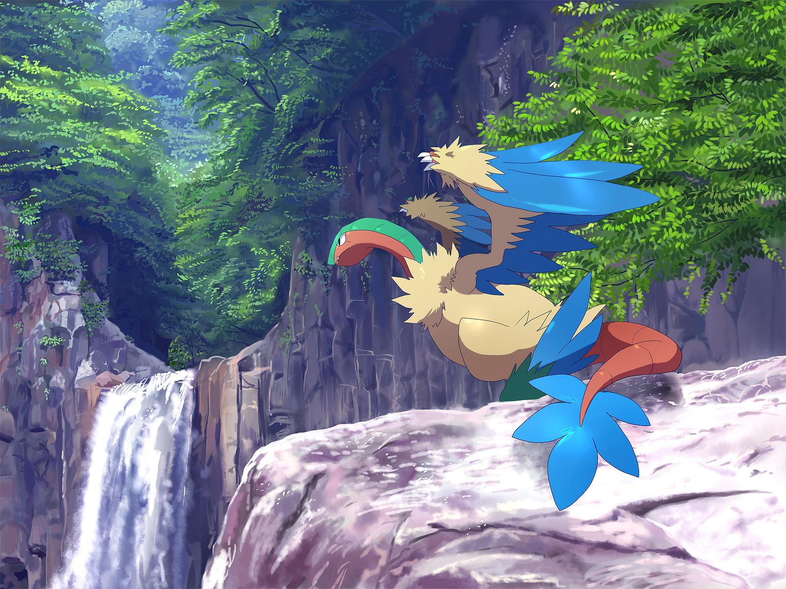 Archeops Pok 233 Mon Zerochan Anime Image Board