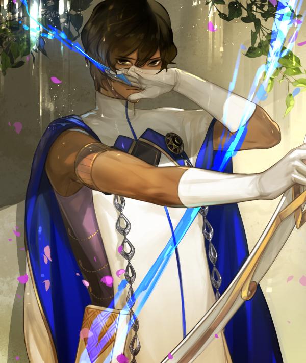 Tags: Anime, Pixiv Id 5080953, Fate/Grand Order, Archer (Fate/Grand Order), Agni Gandiva, Fanart, Revision, Fanart From Pixiv, Pixiv