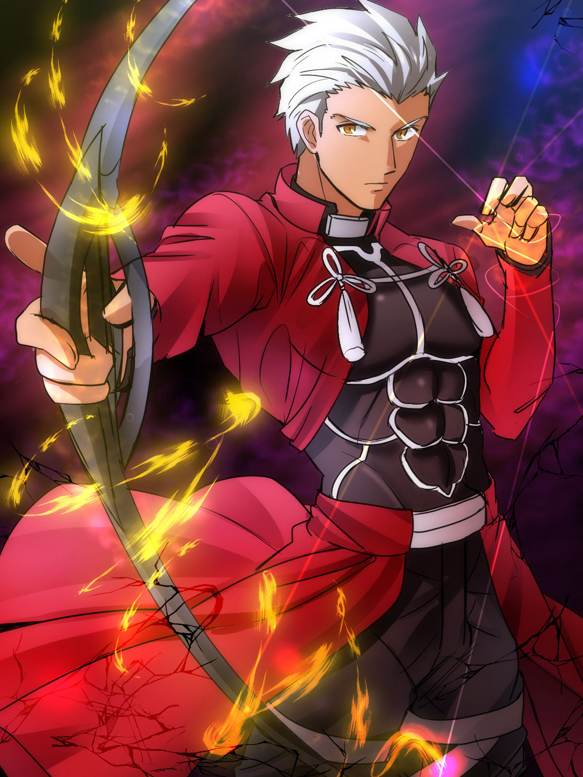 Archer Fate Stay Night Mobile Wallpaper 1882140