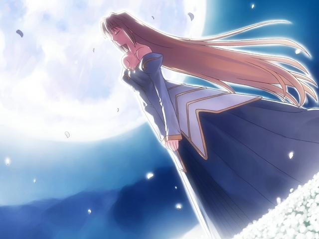 Tags: Anime, Takeuchi Takashi, TYPE-MOON, Tsukihime, Archetype Earth, Arcueid Brunestud, CG Art