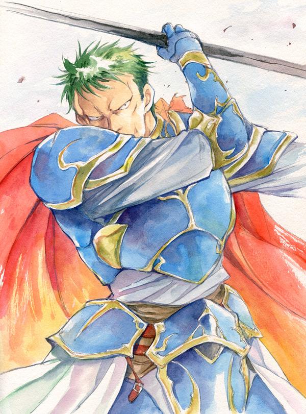 Tags: Anime, Agahari, Fire Emblem: Seisen no Keifu, Arden (Fire Emblem), Traditional Media