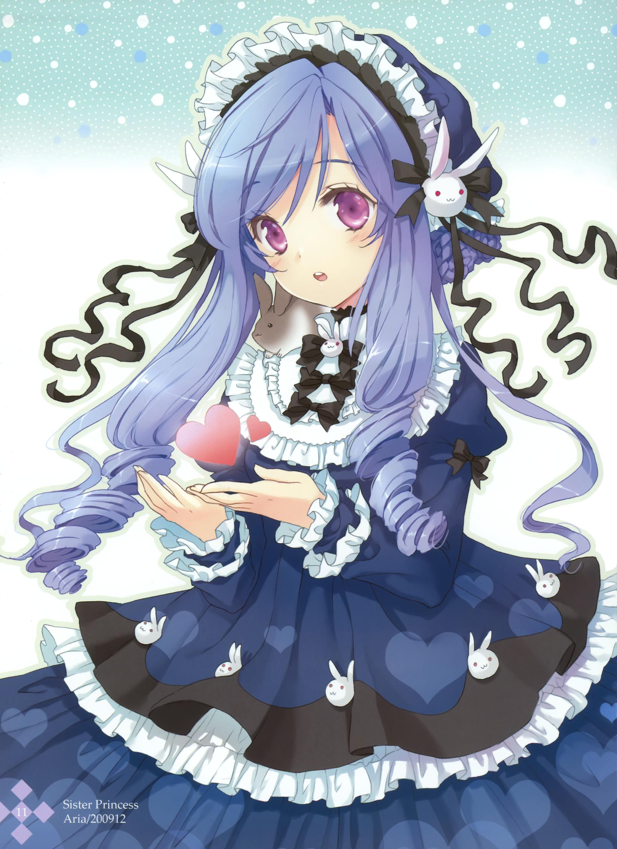 Aria sister princess zerochan anime image board - Manga princesse ...