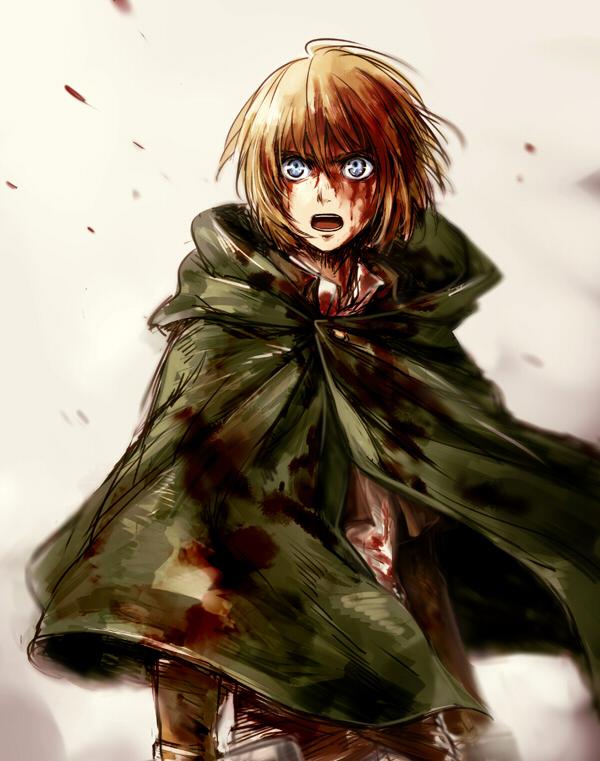Armin Arlert Attack On Titan Zerochan Anime Image Board