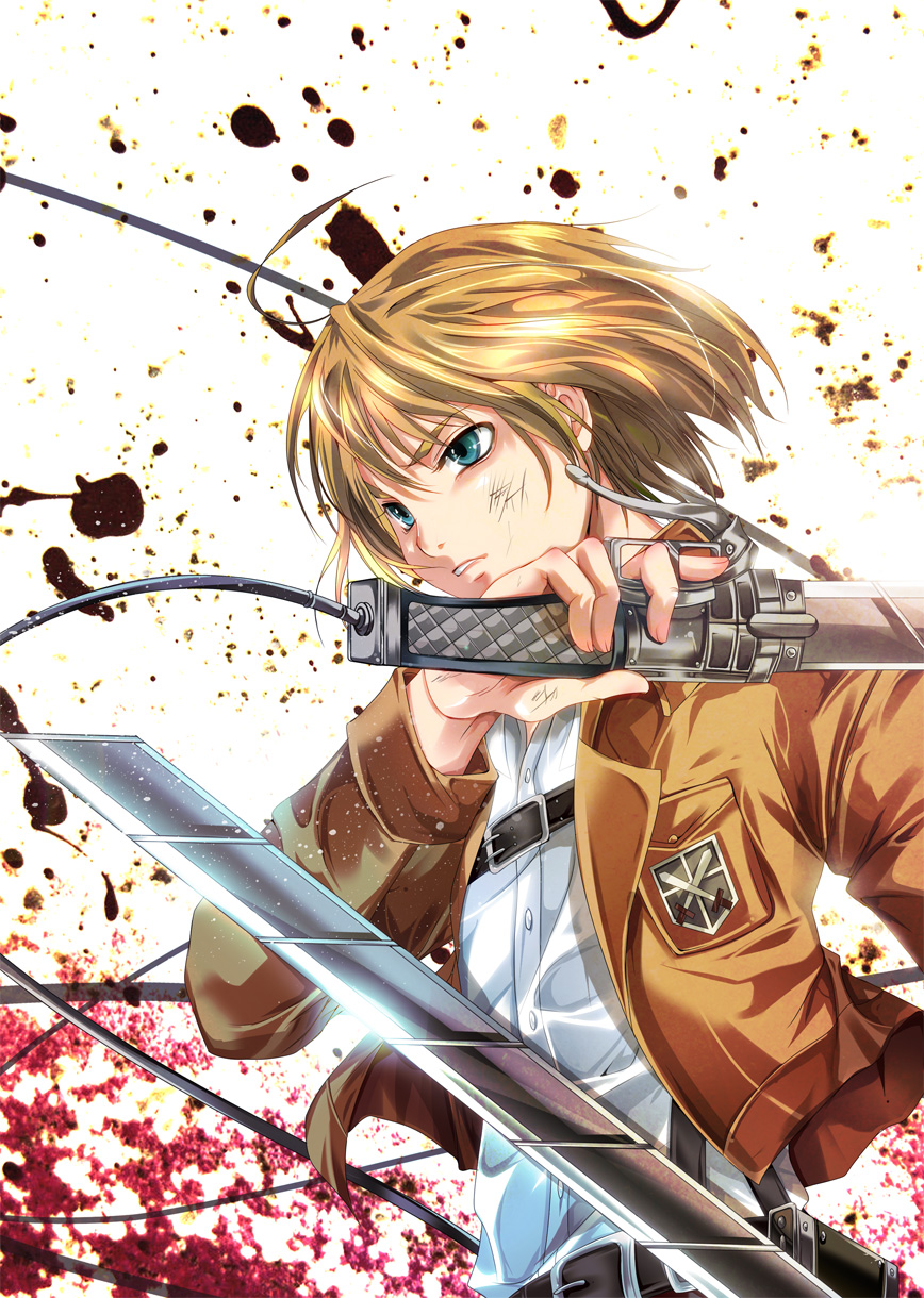 Armin Arlert Attack On Titan Mobile Wallpaper 1571657 Zerochan Anime Image Board
