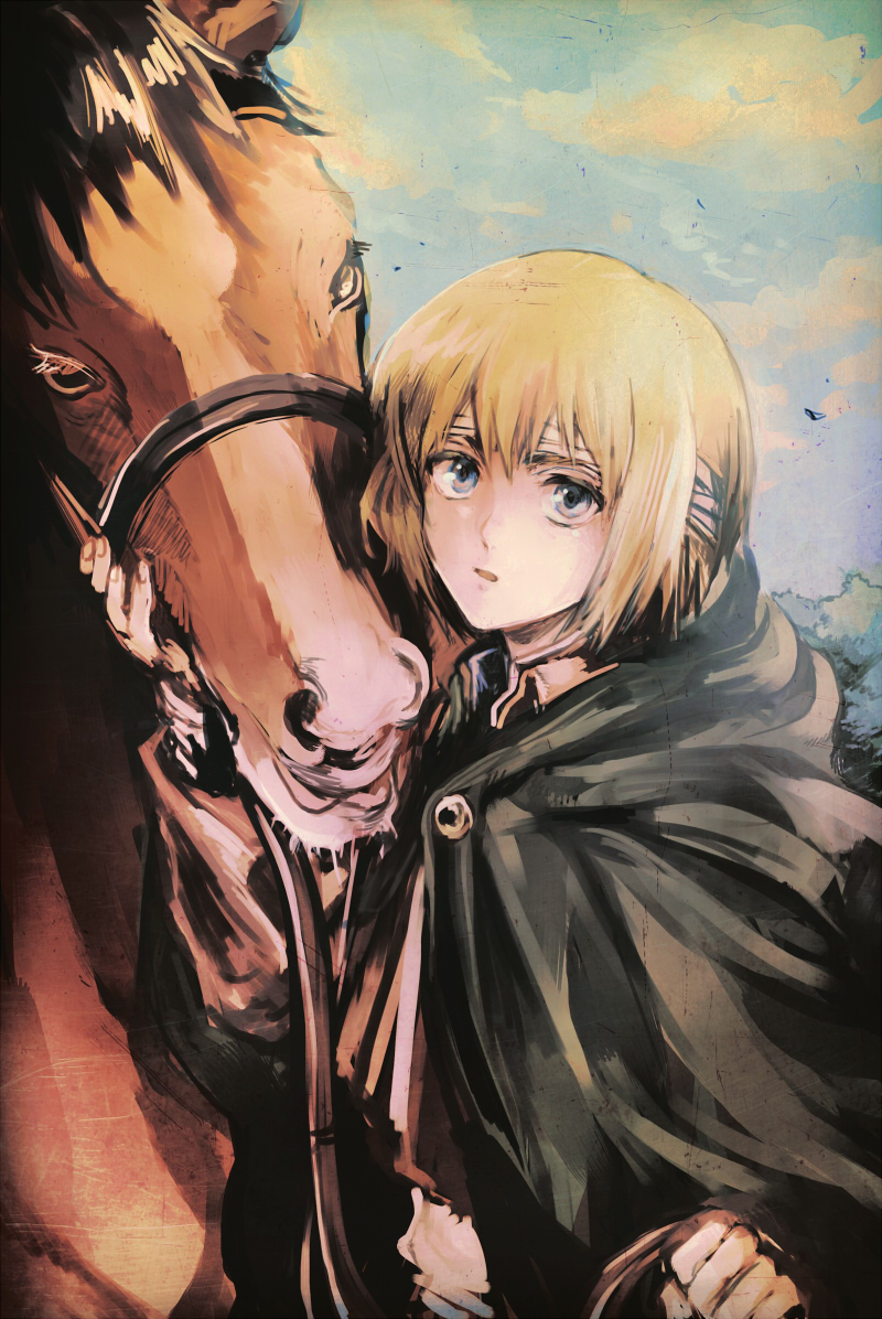 Armin Arlert Attack On Titan Mobile Wallpaper 1611930 Zerochan Anime Image Board
