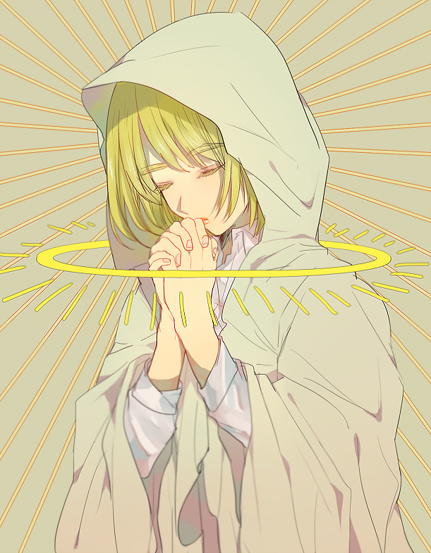 Tags: Anime, Koko (Pixiv56390), Attack on Titan, Armin Arlert, Praying, PNG Conversion, Pixiv, Fanart, Fanart From Pixiv