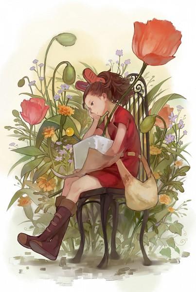 Tags: Anime, Karigurashi no Arrietty, Arrietty