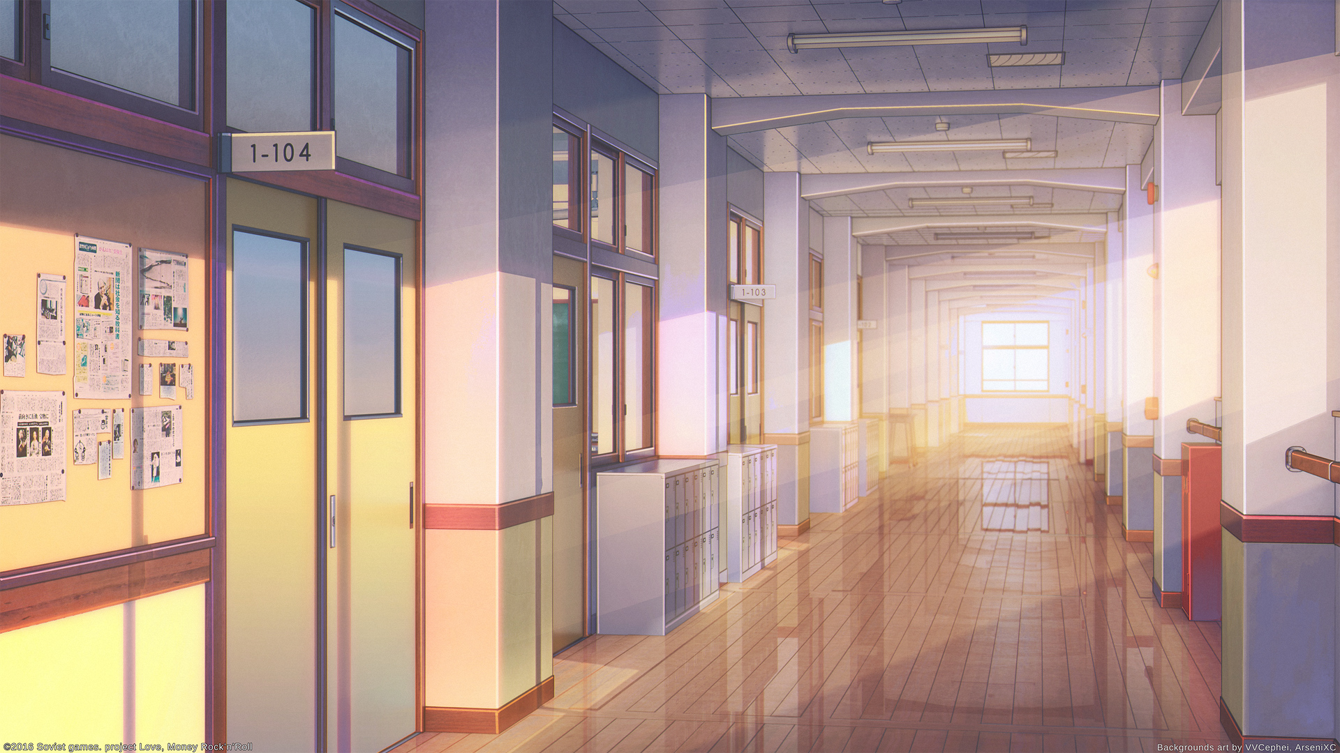 Inside Collaborative Classroom ~ Arsenixc wallpaper zerochan anime image board