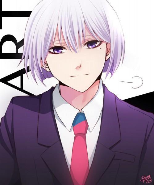 Tags: Anime, Pixiv Id 4567902, Hamatora, Art (Hamatora), Text: Mangaka Name, Mole
