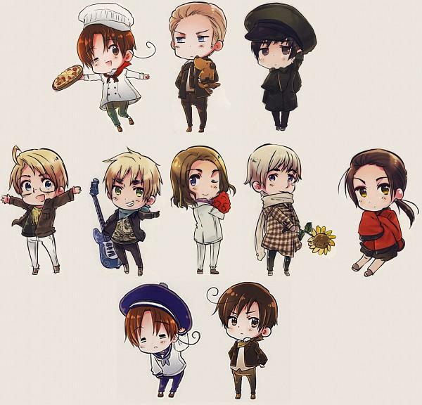 Tags: Anime, Himaruya Hidekaz, Axis Powers: Hetalia, ArteStella, Russia, United Kingdom, China