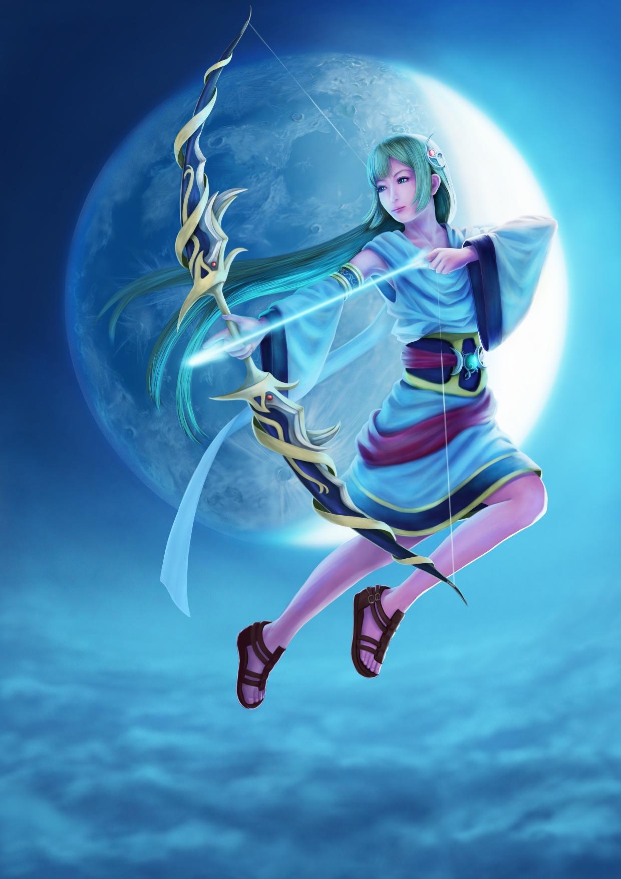 Artemis (mythology)/#Mobile Wallpaper - Zerochan