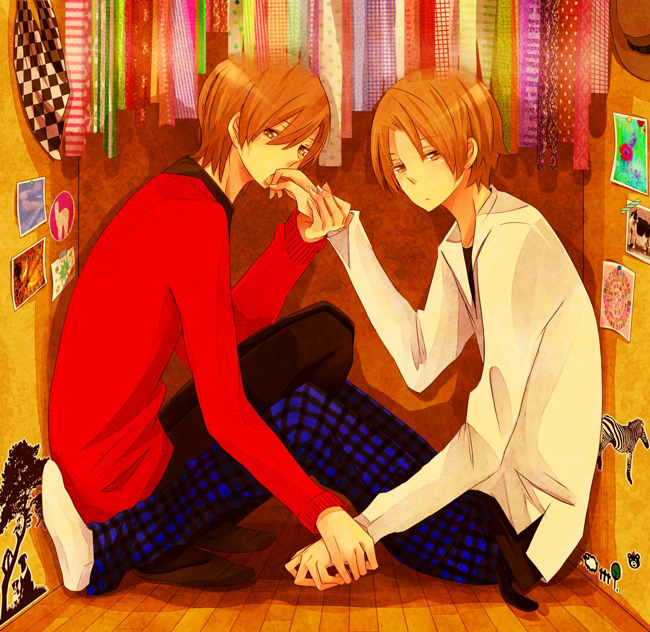 Аниме картинки двух братьев