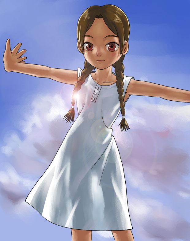 Tags: Anime, Gotoh Keiji, Abenobashi Mahou Shoutengai, Asahina Arumi