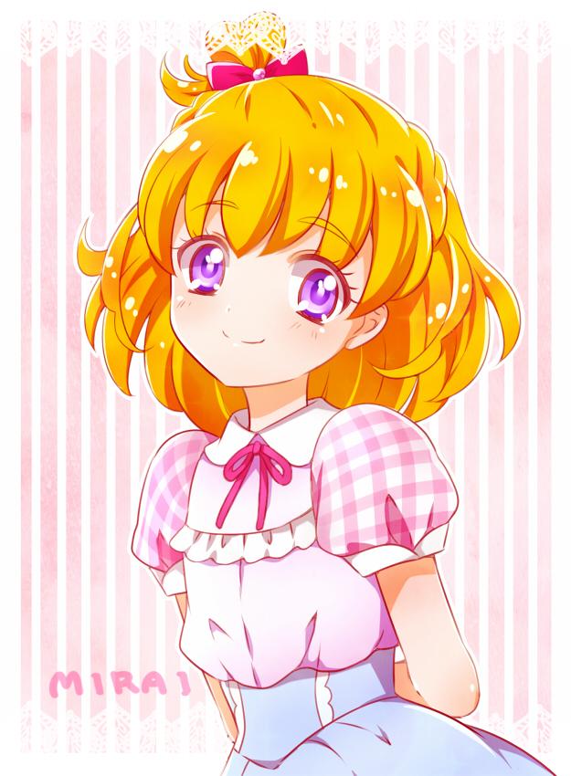 Tags: Anime, Kagamichihiro, Mahou Tsukai Precure!, Asahina Mirai, Fanart From Pixiv, Mobile Wallpaper, Pixiv, Fanart