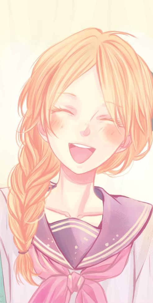 Tags: Anime, Katita-chan, Nijiiro Days, Asai Yukiko