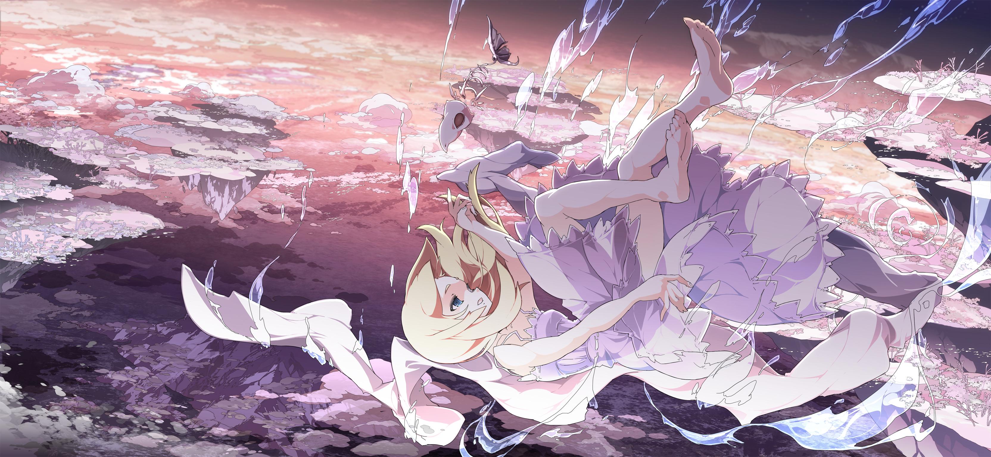 Pics Of Anime Girl Falling