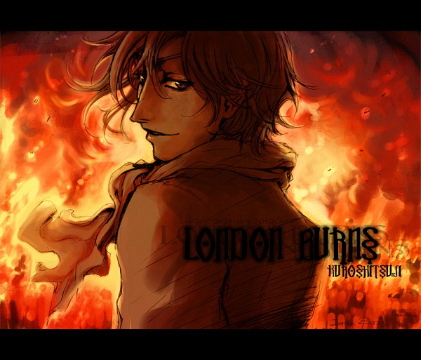 Tags: Anime, Kuroshitsuji, Ash Landers, Angel, Fire