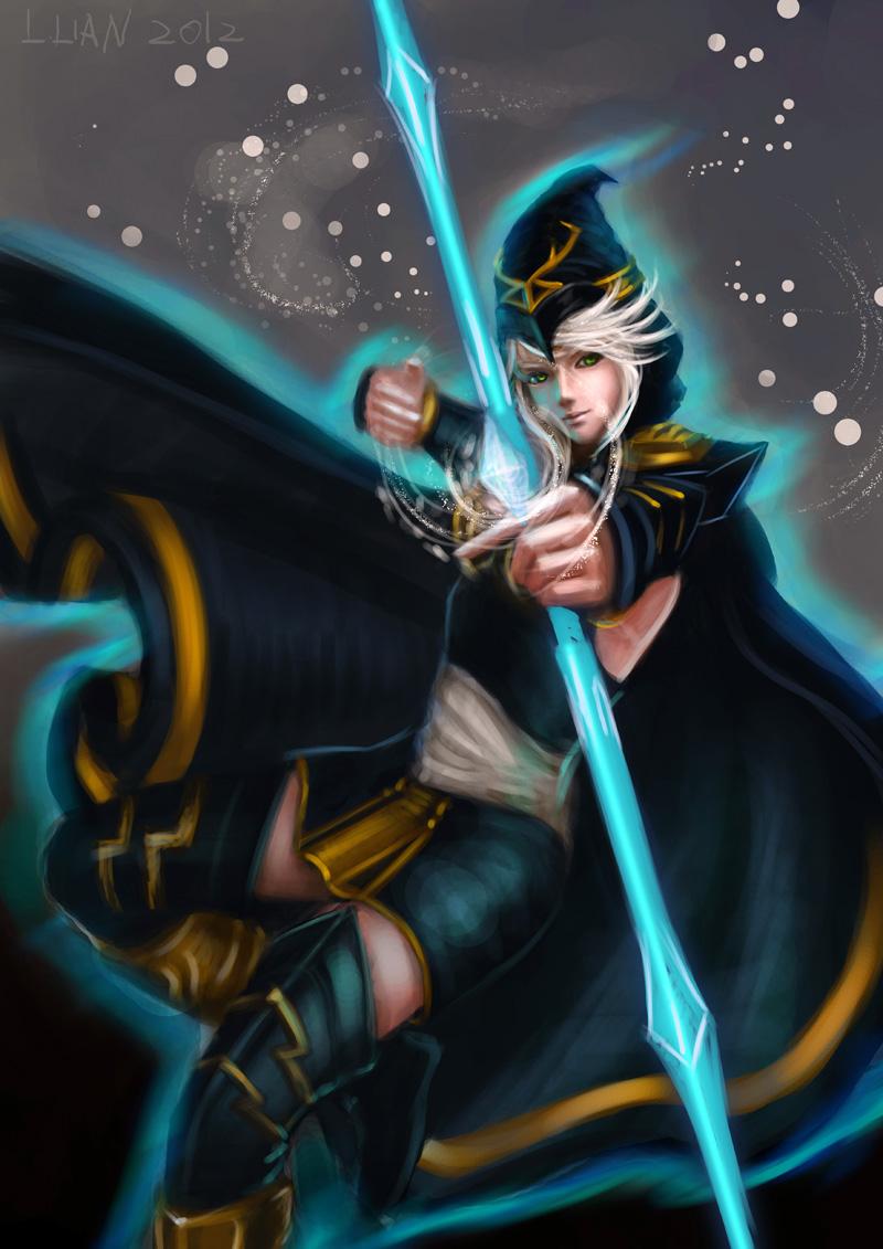 Ashe League Of Legends Mobile Wallpaper 1311833 Zerochan