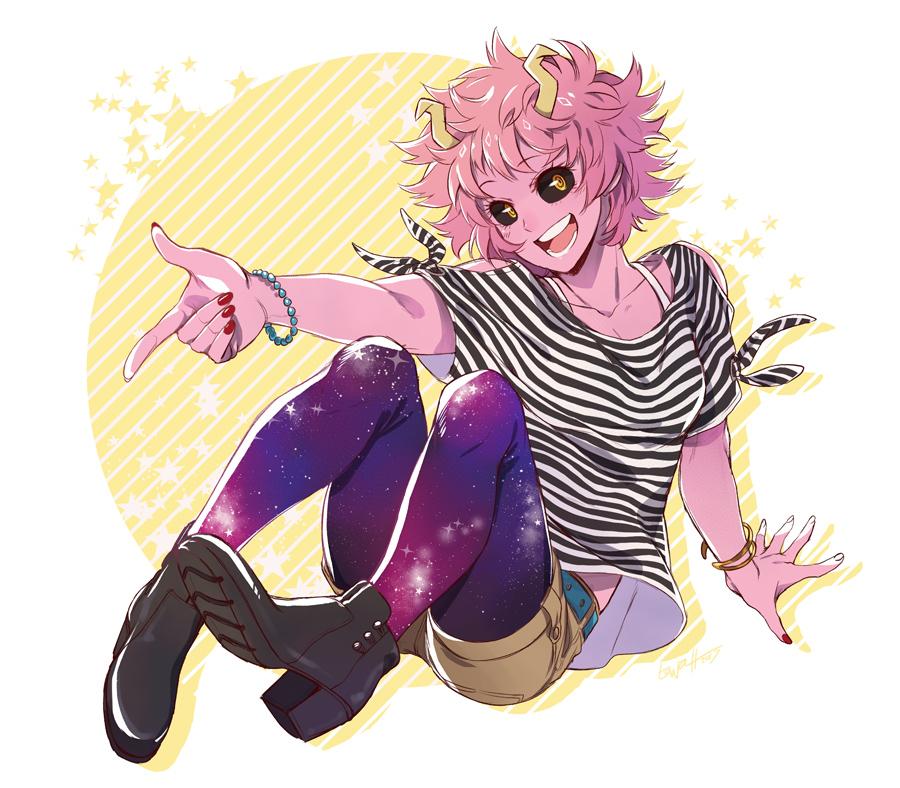 Ashido Mina Boku No Hero Academia Zerochan Anime Image Board