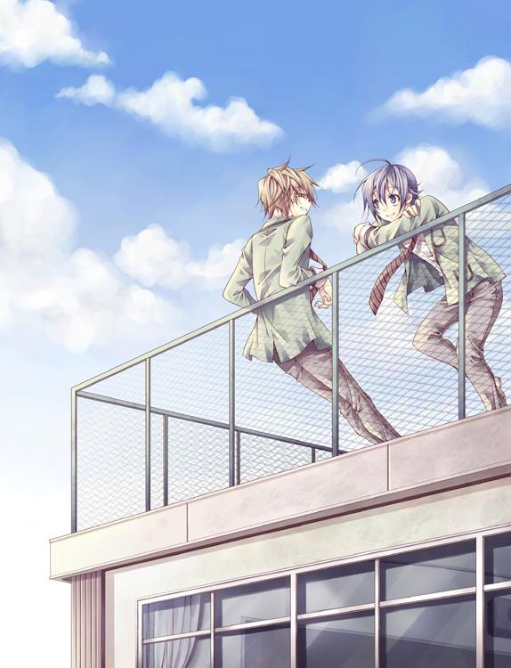 Tags: Anime, Bakuman。, Takagi Akito, Mashiro Moritaka, Ashirogi Muto