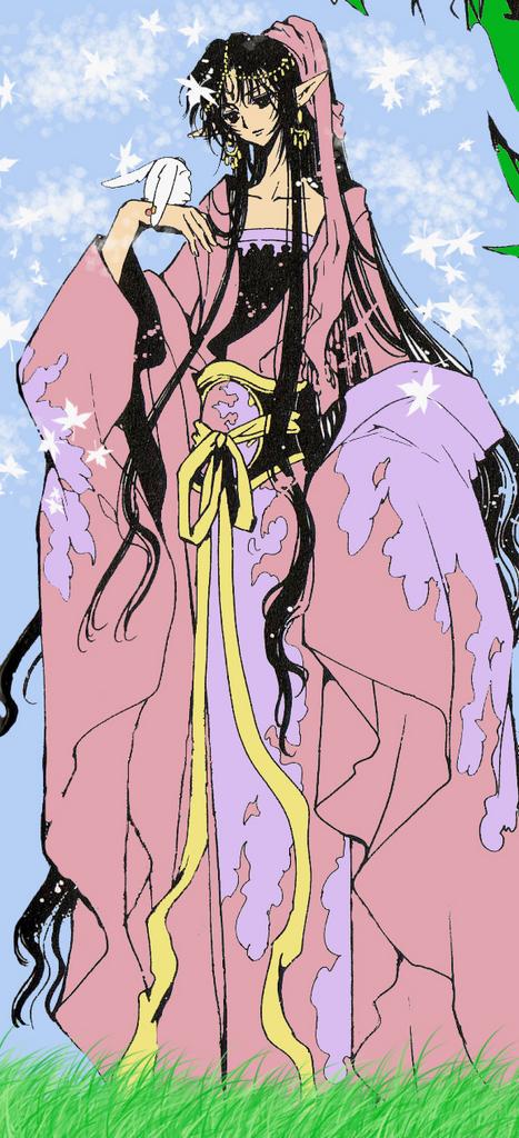 Tags: Anime, CLAMP, Tsubasa: RESERVoir CHRoNiCLE, Mokona Modoki, Ashura-ou (TRC), Colorization