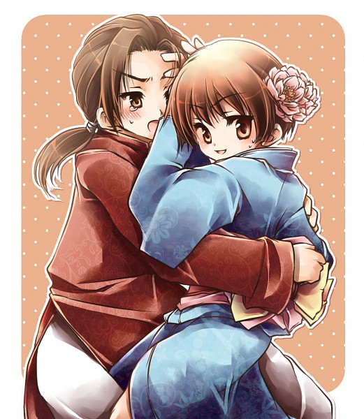 Tags: Anime, Axis Powers: Hetalia, Japan, China, Asian Countries