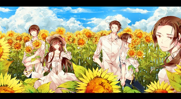 Tags: Anime, Kamitsuki, Axis Powers: Hetalia, Taiwan, China, South Korea, Hong Kong