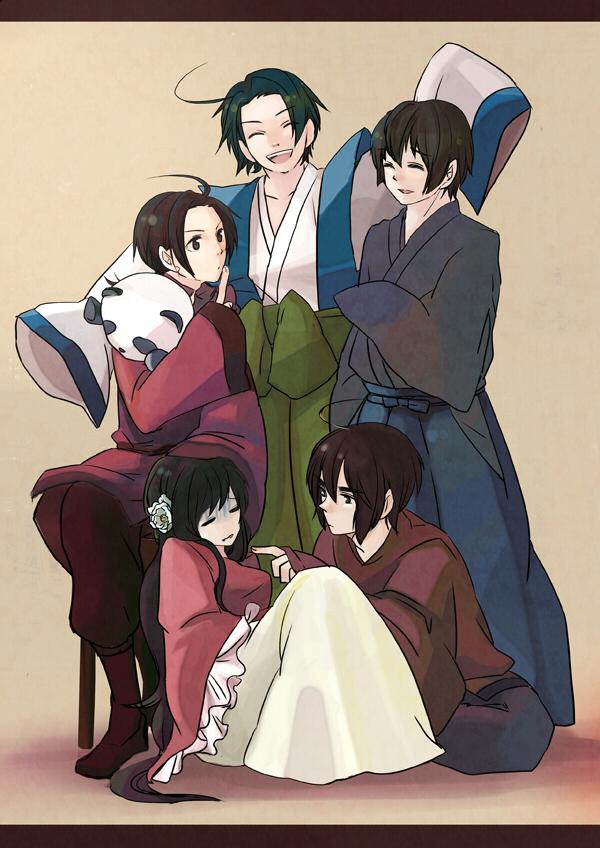 Tags: Anime, Toryufu, Axis Powers: Hetalia, China, Hong Kong, Japan, South Korea, Taiwan, Tangzhuang, Asian Countries
