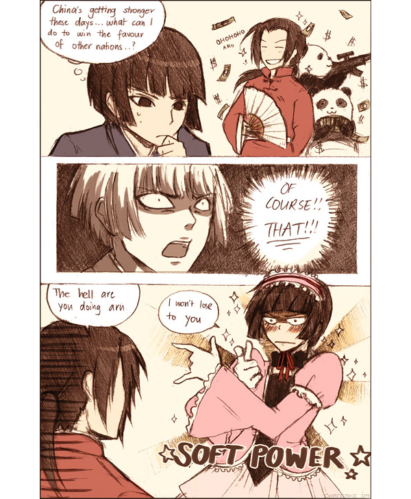 Tags: Anime, Chancake, Axis Powers: Hetalia, Japan, China, Money, Bishoujo Senshi Sailor Moon (Parody), Machine Gun, deviantART, Comic, Asian Countries, Allied Forces