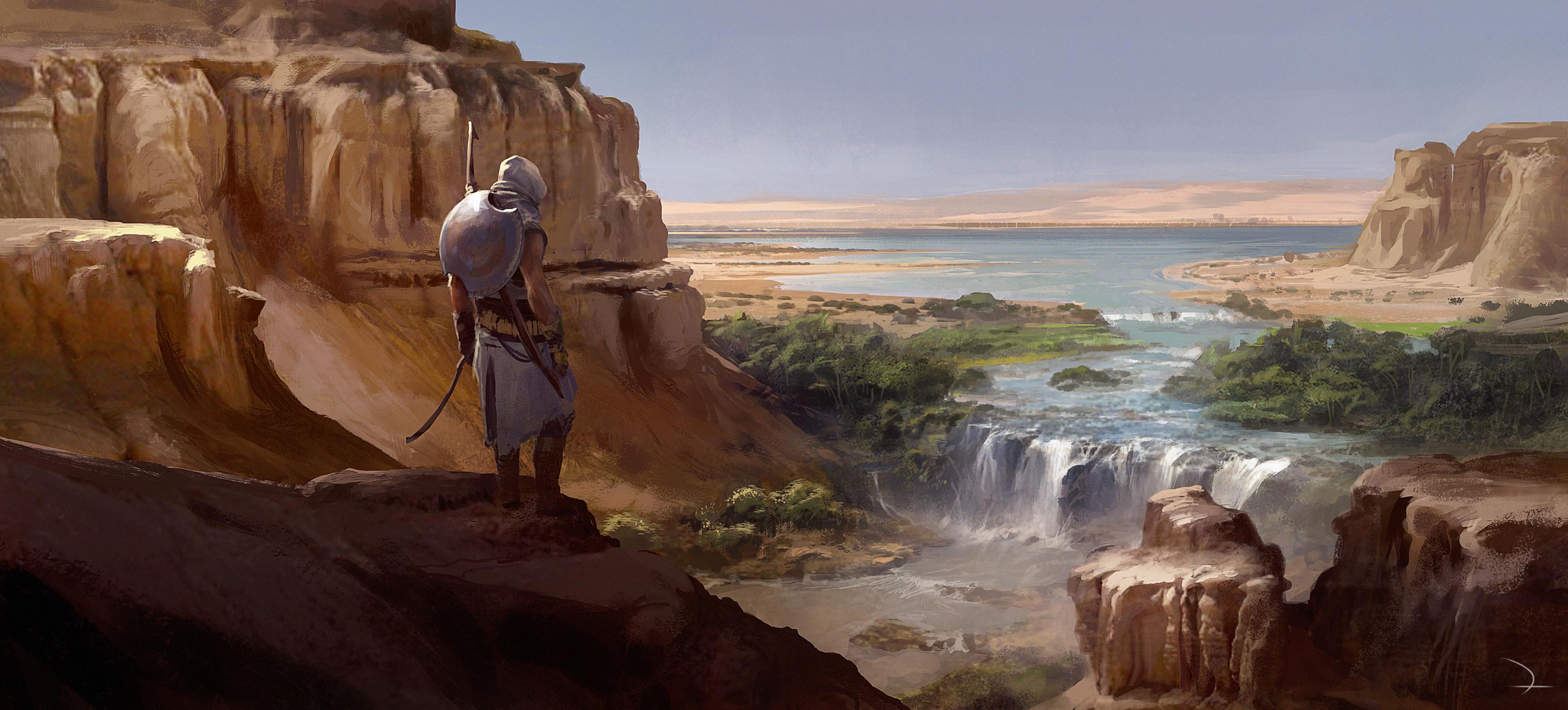 Assassin S Creed Origins Wallpaper Zerochan Anime Image Board