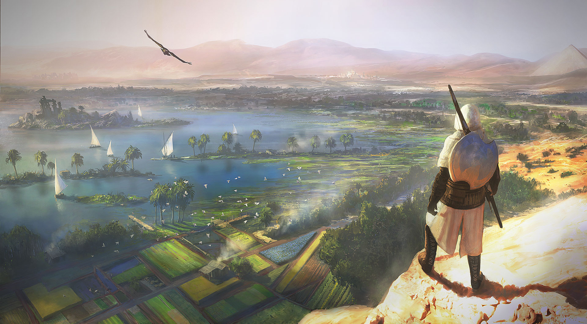 Assassin S Creed Origins Wallpaper 2178981 Zerochan Anime Image Board