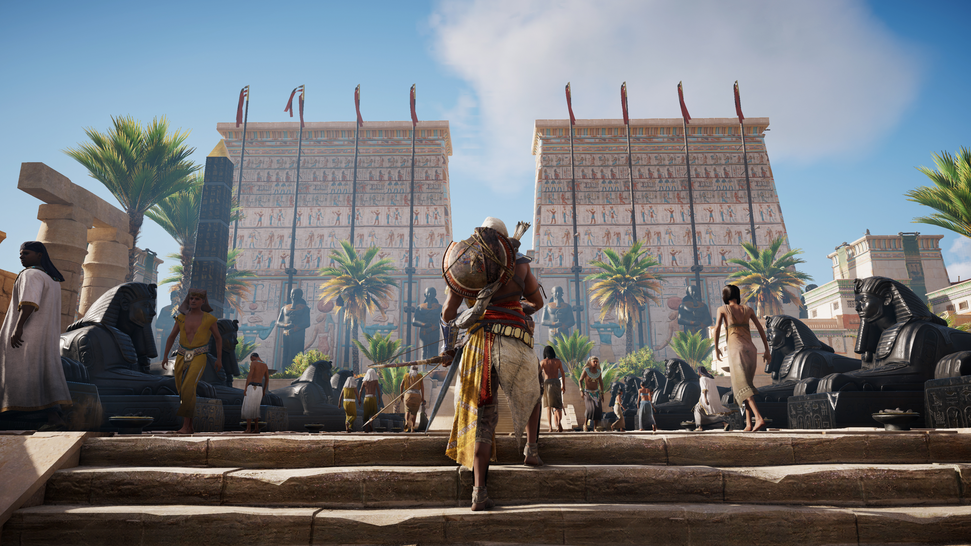 Assassin S Creed Origins Hd Wallpaper 2178999 Zerochan Anime