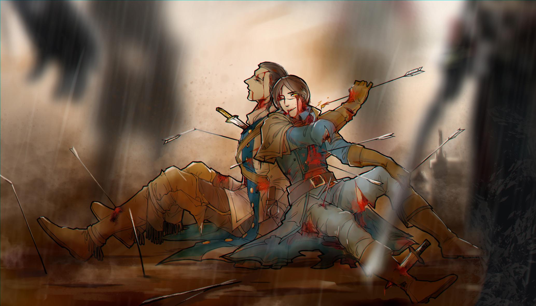 assassins creed unity elise art