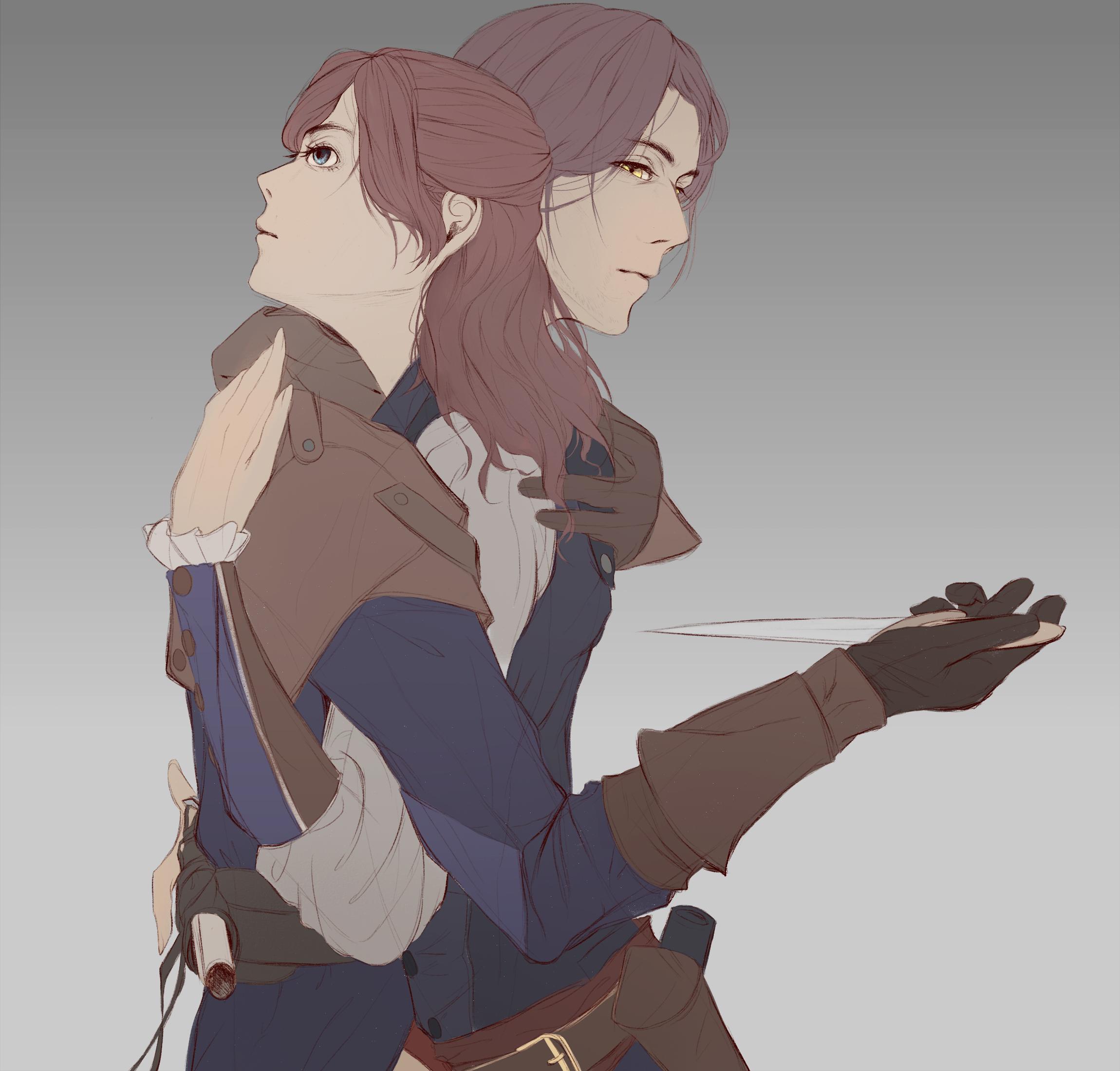 Anime Characters Unity : Assassin s creed unity image zerochan anime