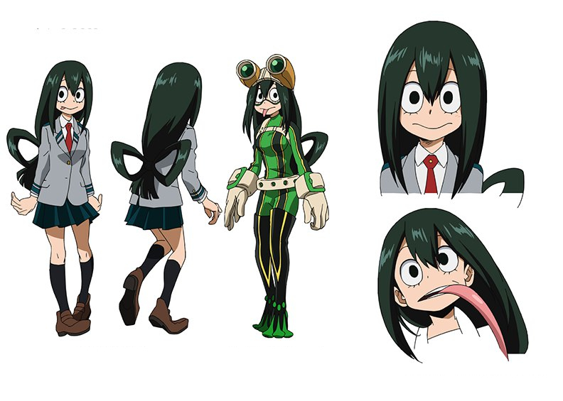 Image result for tsuyu asui