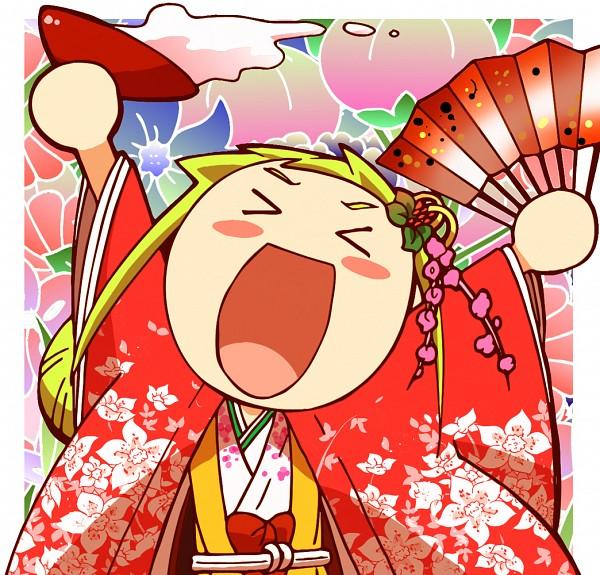Tags: Anime, Ojamajo DoReMi, Asuka Momoko, Floral Print, Hair Rings, Flower Background, Pixiv Id 3391846