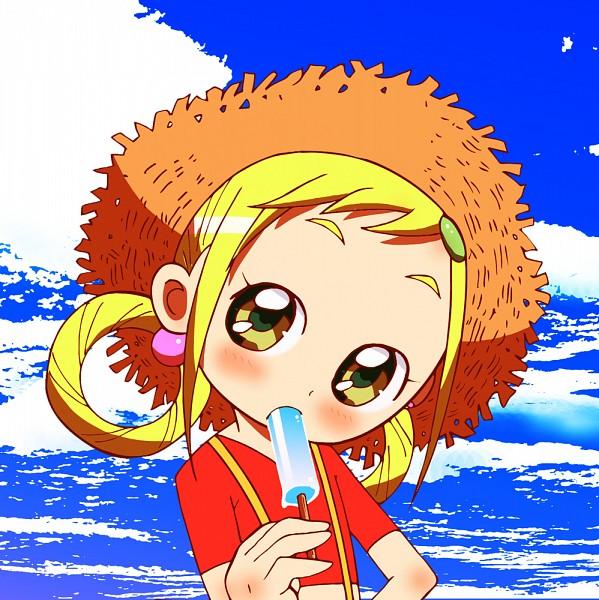 Tags: Anime, Ocean, Ice Cream, Ojamajo DoReMi, Asuka Momoko, Pixiv Id 3391846, Single Earring