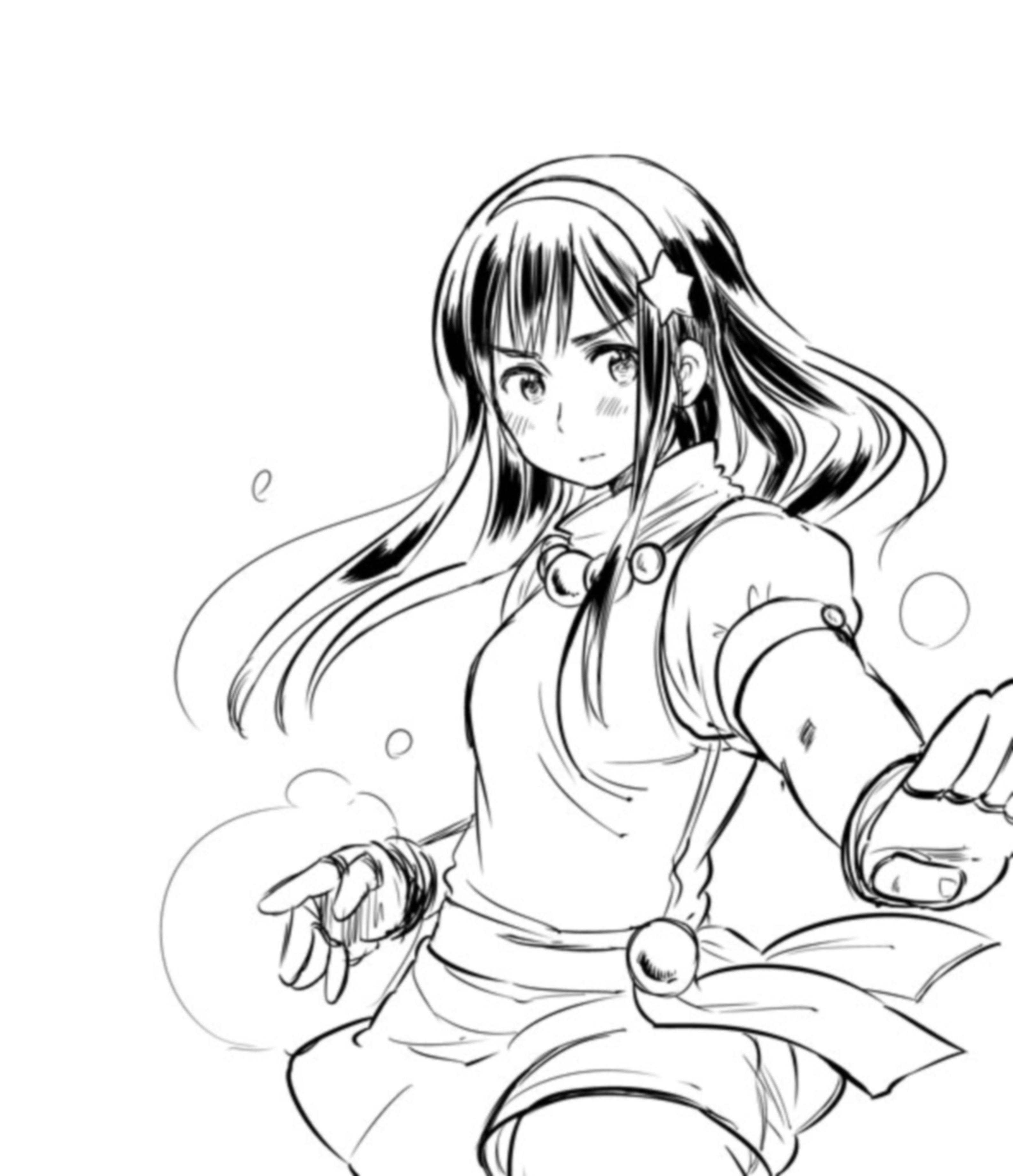 Zerochan Lineart : Athena king of fighters image zerochan anime