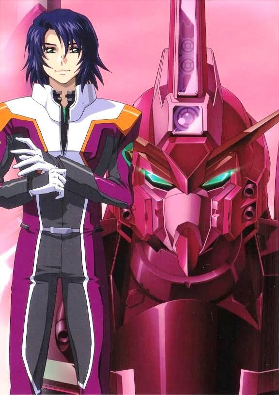 Tags: Anime, Mobile Suit Gundam SEED, Mobile Suit Gundam SEED Destiny, Athrun Zala, Infinite Justice Gundam, Gundams