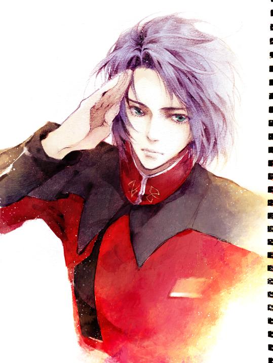 Tags: Anime, Ibuki Satsuki, Mobile Suit Gundam SEED, Athrun Zala, Fanart