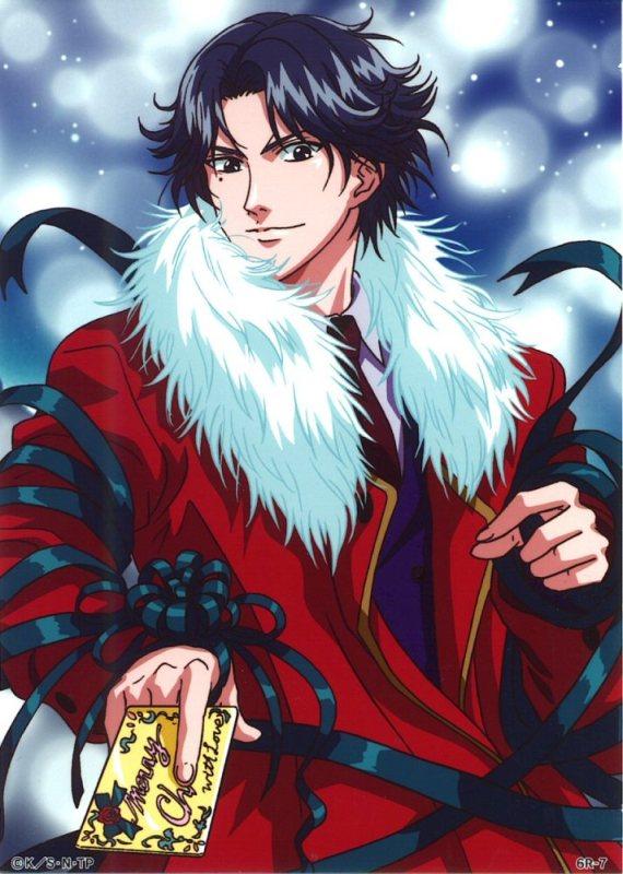 Tags: Anime, Tennis no Ouji-sama, Atobe Keigo, Christmas Outfit, Christmas, Hyotei Academy