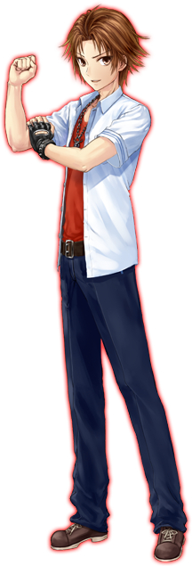 Tags: Anime, Kazuharu Kina, DMM Games, Iwaihime, Atsuta Natsuya, Cover Image, PNG Conversion, Official Art