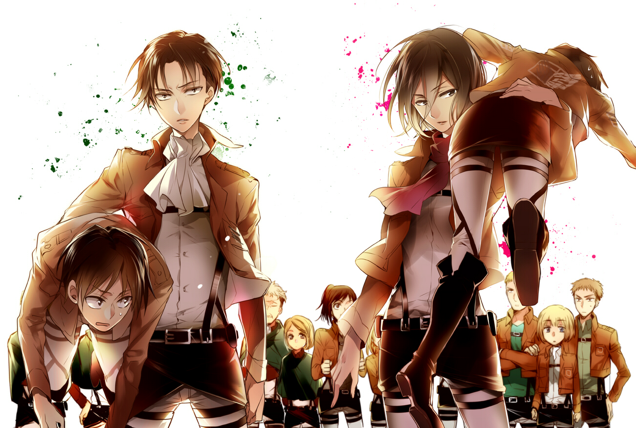 Served by us  Eren and Levi fanfiction  Chapter 6  Wattpad