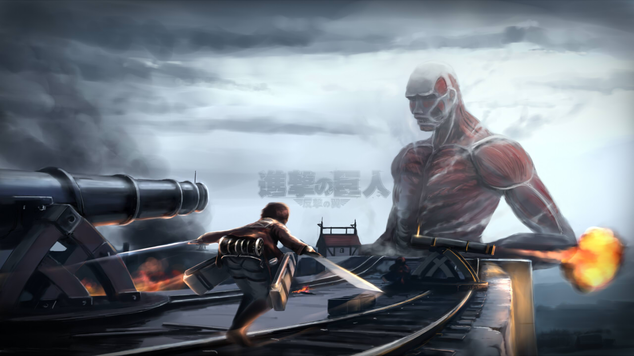 Colossal Titan Wallpaper Zerochan Anime Image Board